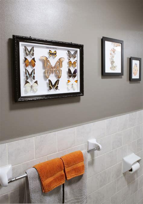orange and gray bathroom ideas gray and orange bathroom design ideas