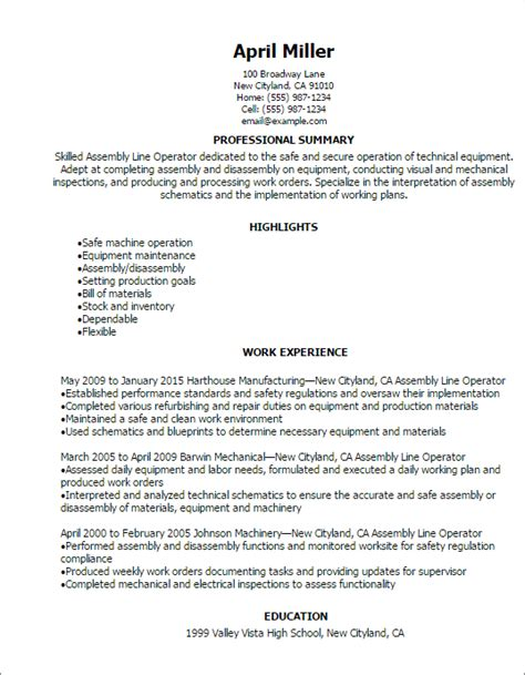 finace cover letter opending line assembly line operator resume template best design