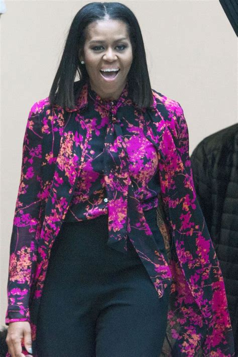 Michelle Obama Just Wore the Coolest Layered Denim Jacket ...