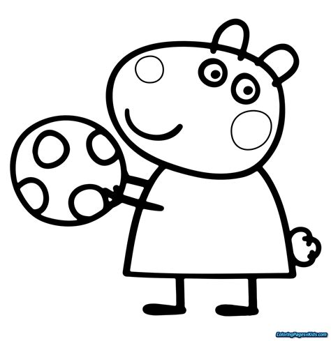 Coloring Pages Peppa Pig Coloring Pages For Kids
