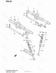 Suzuki Motorcycle 2001 Oem Parts Diagram For Cam Shaft