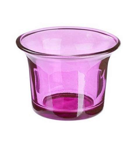decoration photophore en verre vente photophore en verre violet bougies leds photophores 1001 deco table
