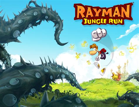 bureau fond d 馗ran fond ecran wallpaper rayman jungle run jeuxvideo fr