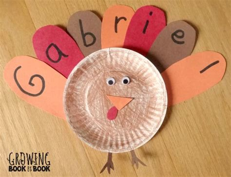 name activities feather letter turkey 773 | learning your name feather turkey Thanksgiving activity