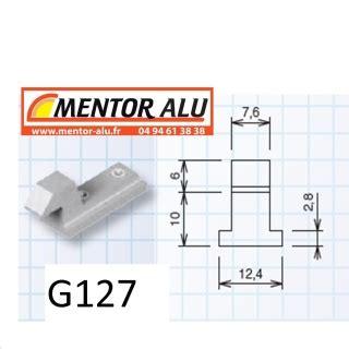 mentor alu pvc stores kit oscillo battant technal complet de la collection paumelles de