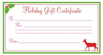 uses for gift certificate templates blank certificates