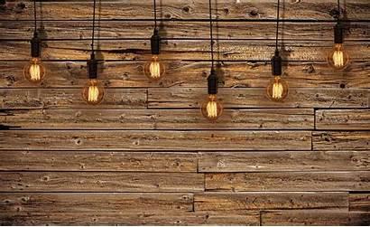 Wood Bulbs Mural Bulb Wooden Paper Holz