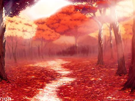 Animated Fall Wallpaper - fall autemn season anime style wallpapers by porthorion
