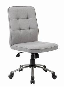 Boss, Office, U0026, Home, Donna, Modern, Mid-back, Armless, Office, Desk, Chair, Multiple, Colors