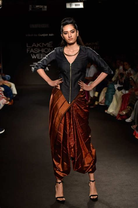 in pictures gunjan jain at lakme fashion week 2018