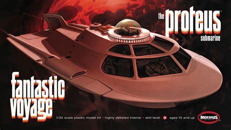 fantastic voyage proteus  scale model kit  moebius