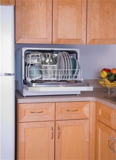 dishwasher with countertop haier energy countertop portable dishwasher 6 place