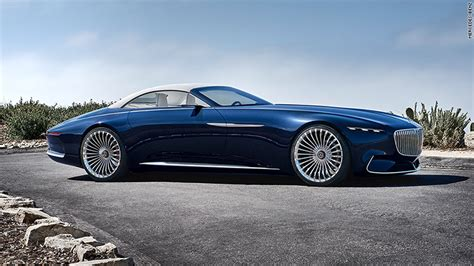 Mercedes Unveils Stunning, Super-long Luxury Convertible