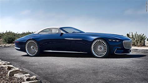 Mercedes Unveils Stunning, Superlong Luxury Convertible