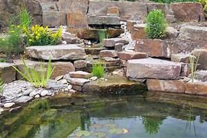 Steinmauer Mit Wasserfall : bachlauf anlegen n tzliche tipps und lebendige vorschl ge garten zenideen ~ Sanjose-hotels-ca.com Haus und Dekorationen