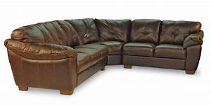 Phoenix 4 piece leather sectional from hom furniture new for Sectional sofa hom furniture