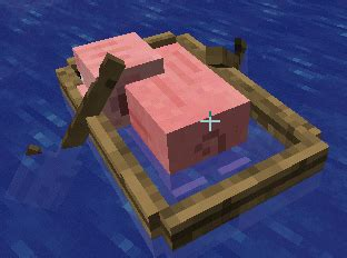 Minecraft Boat Gif by Pig Boat Gif Find On Giphy