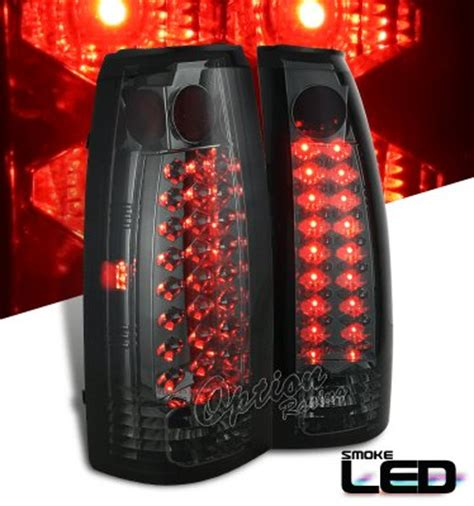chevy tahoe   smoked led tail lights akpzw