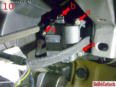 si e d air changer résistance pulseur air 307 clim manuelle tuto
