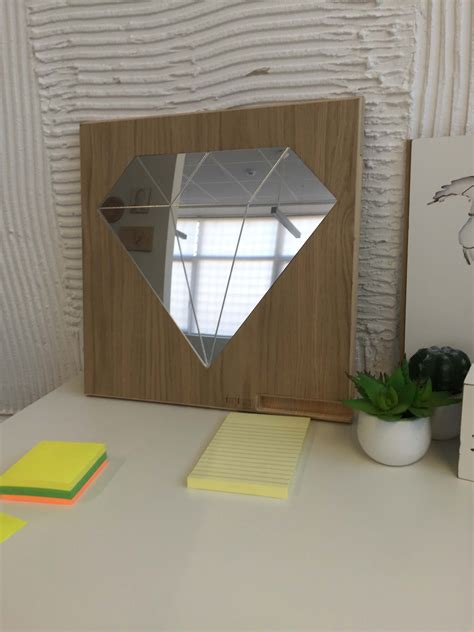 decorative wooden frame wall mirror diamond daydreamcom