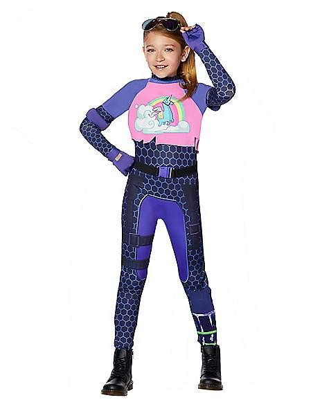 girls brite bomber costume fortnite spirithalloweencom