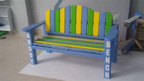 buddy bench for buddy benches at mount pearl primary schools encourage