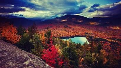 Mountain Desktop Fall Wallpapers Autumn Widescreen Nature