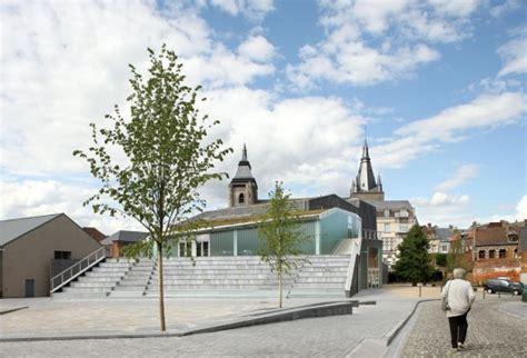 bureau culturel e espace culturel victor jara l escaut architectures