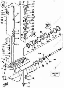 Yamaha Outboard Parts By Hp 60hp Oem Parts Diagram For Lower Casing Drive 1