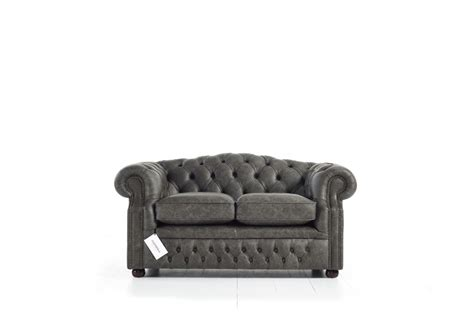 gray leather chesterfield sofa rooms