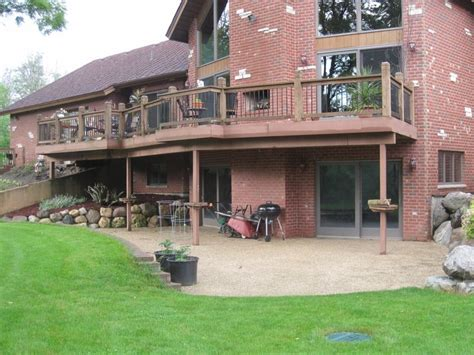 Walk Out Basements by Walk Out Basement Landscaping Patios And Decks