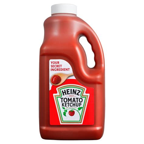 Heinz Tomato Ketchup 4.5kg   BB Foodservice