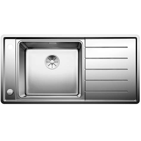 blanco kitchen sinks stainless steel blanco andano xl 6 s if stainless steel kitchen sink 7919