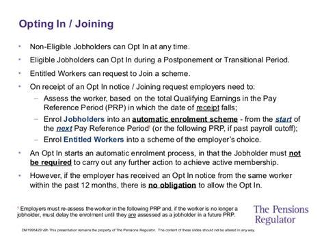 auto enrolment    pensions regulator