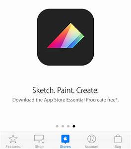 Drawing App Procreate Is Free Right Now Within The Apple