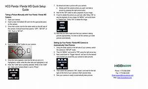 Panda Quick Setup Guide