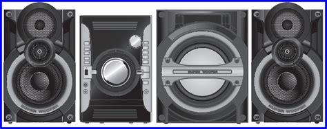 reset equipos de sonido panasonic serie sa akx laboratorio electr 243 nico fallas