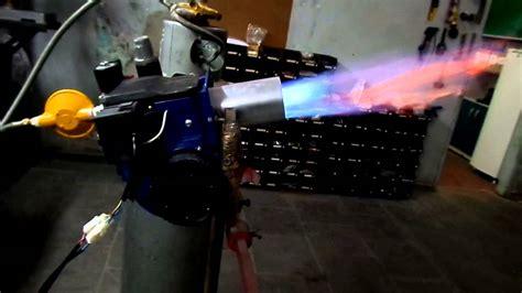 queimador industrial youtube