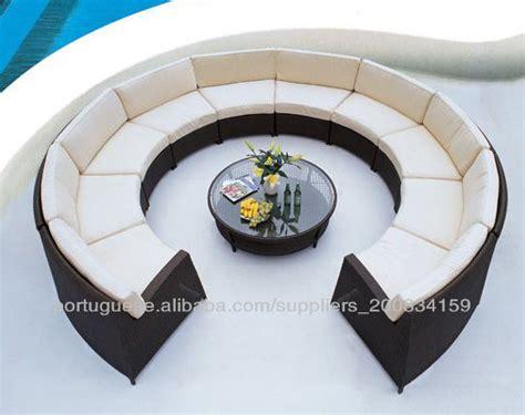 canapé cercle fabriqué en chine canapé courbe demi cercle canapé