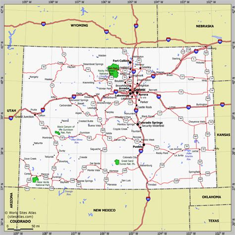 ouray county  genweb project maps travelquazcom
