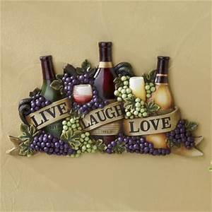 Live Laugh Love Wine Wall Art from Seventh Avenue DW701527