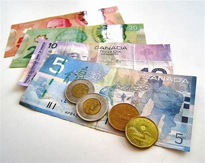 Money Canadian Canada International Bills Colors Student