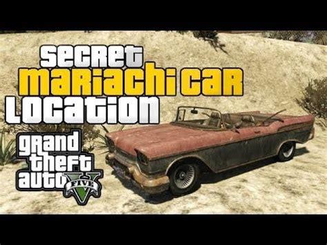 gta   secret car mexican mariachi spawn