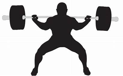 Powerlifting Clipart Squats Clip Gym Clker Vector