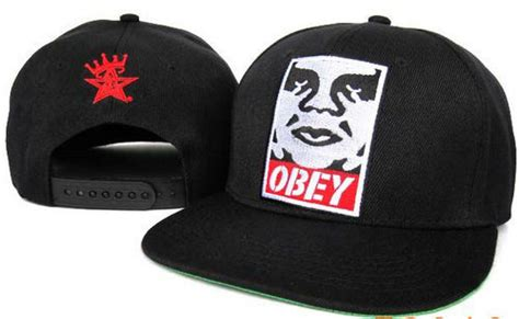 China Brand Embroidered Obey Hats