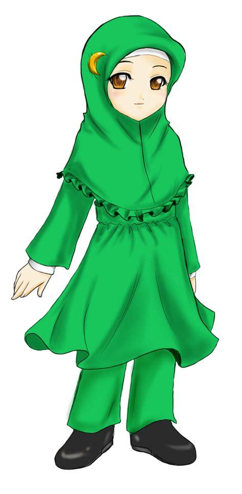 life muslimah cartoon transparent