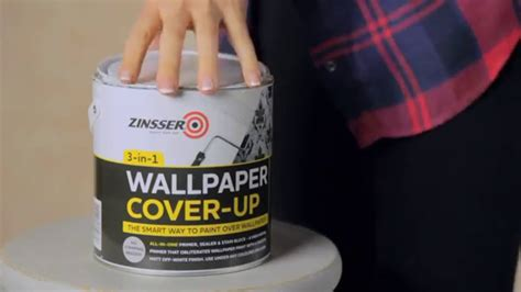 How To Paint Over Wallpaper With Zinsser Wallpaper Cover