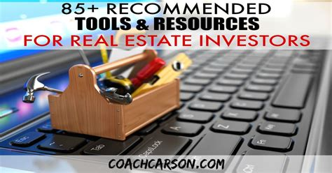 recommended tools resources  real estate investors