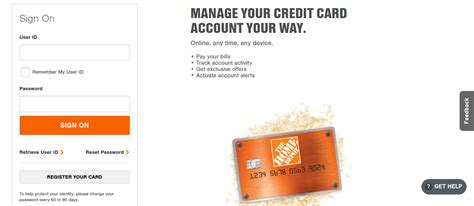 The home depot gift cards. www.homedepot.com/mycard - Access To Your Home Depot Credit Card Account