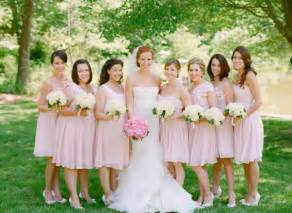 chagne pink bridesmaid dresses light pink bridesmaid dresses flattering to almost every skin tone ipunya